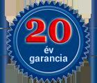 20 év garancia